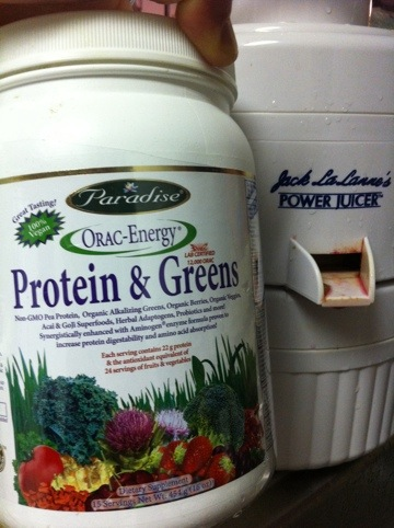 Vitamins, Minerals, Protien & Greens