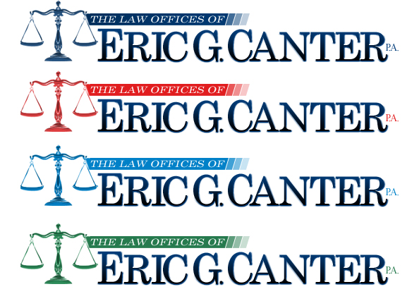 Logo Design for Lawyer Eric G. Canter