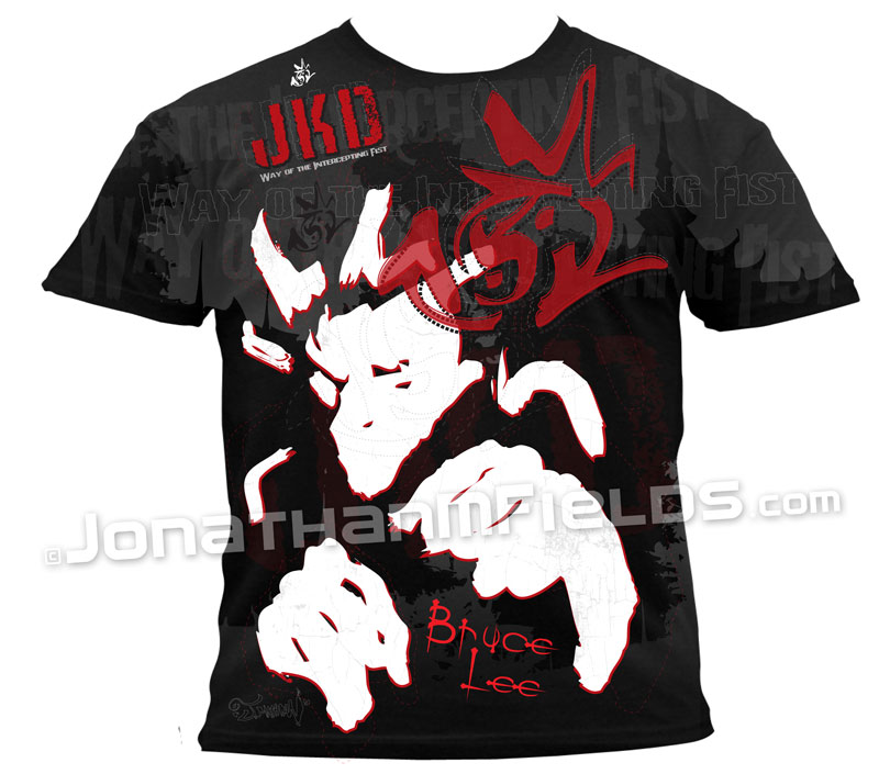 Bruce Lee T-shirt Jeet Kune Do JKD