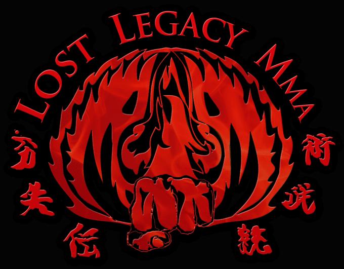 Lost Legacy MMA logo Black