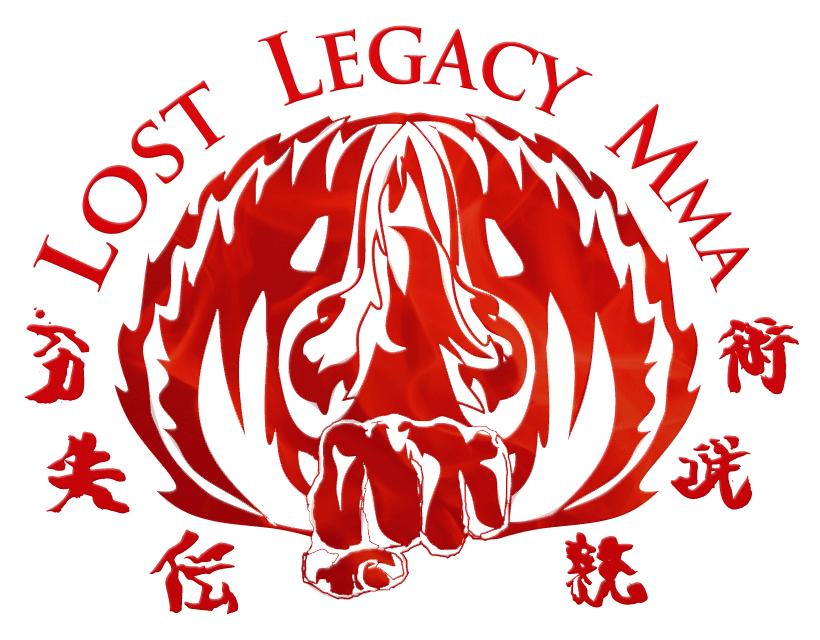 Lost Legacy MMA Logo Design