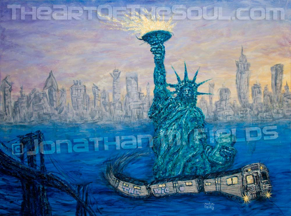 New York City Tribute painting