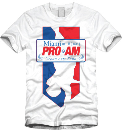 Miami Pro-Am T-Shirt Design