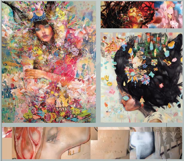 David Choe Art work