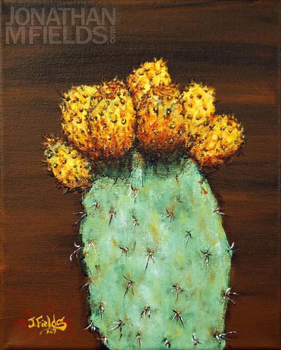 Sabras Cactus Painting