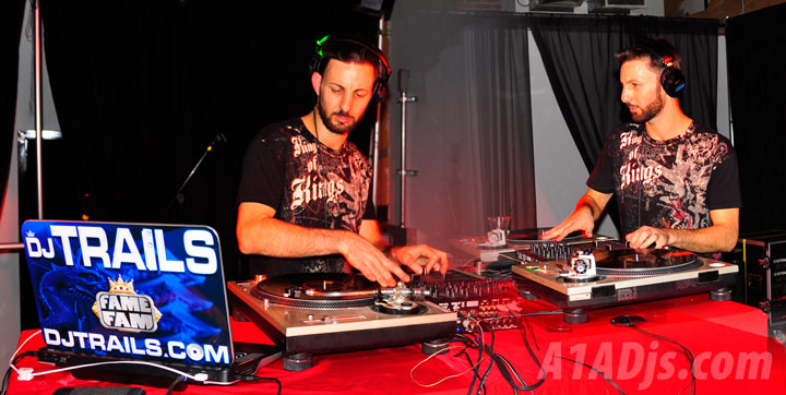 DJ Trails opening for Souls of Mischief