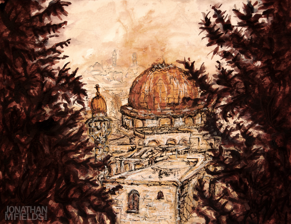 Jerusalem Watercolor