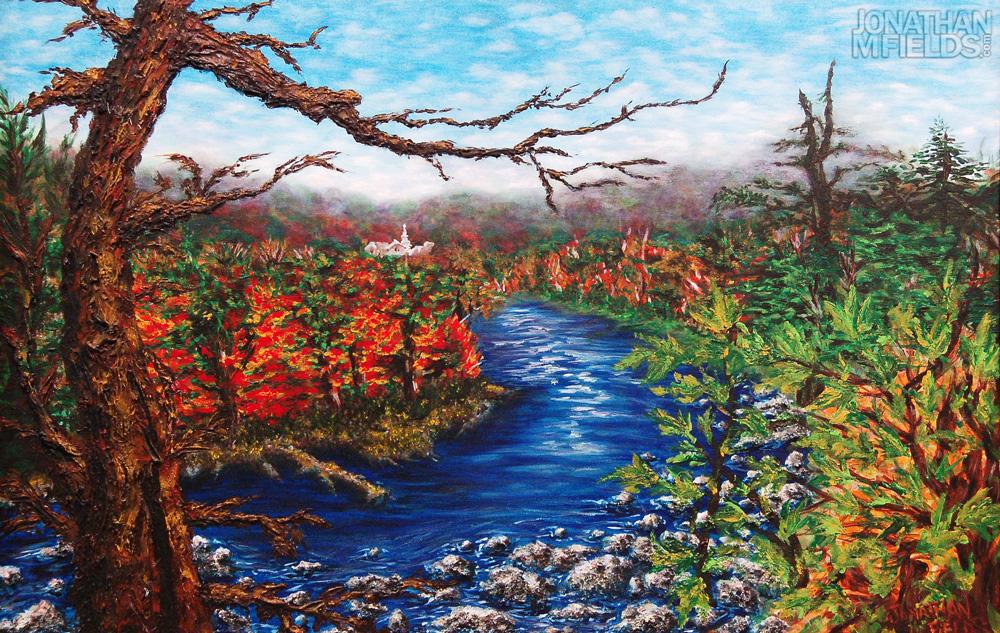 Vermont Tropics Painting