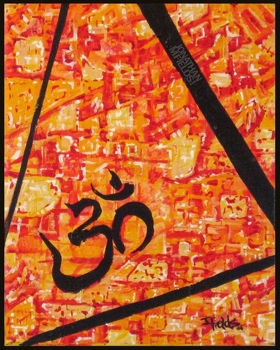 Aum Painting