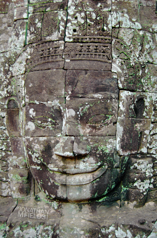Bayon Green Buddha