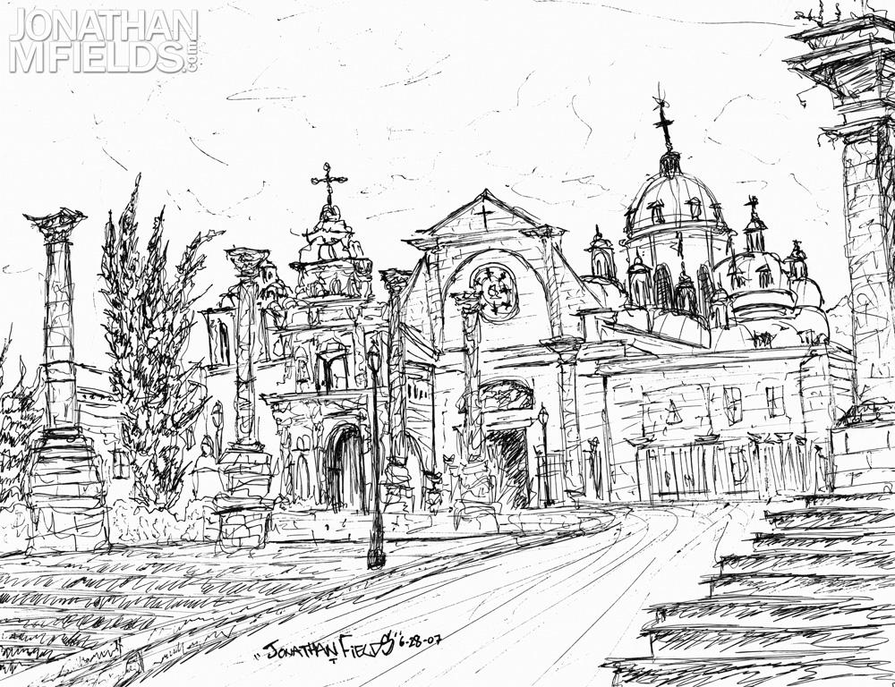 Xela Centro Parque Sketch 2007
