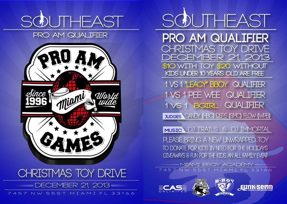 Miami Pro-Am Dec 21 Qualifier