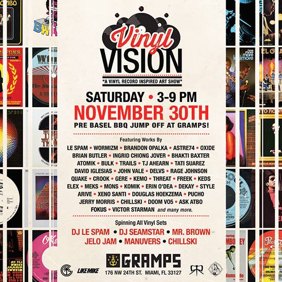 Art Basel Miami Vinyl Art Show