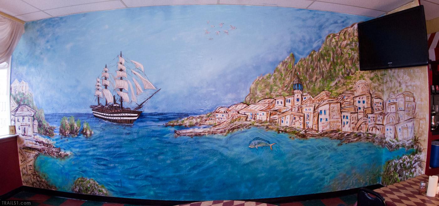 9×24 Sicily Mural
