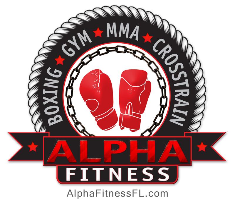 Alpha Fitness Logo Design and Flyer Design