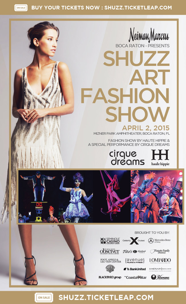SHUZZ Art Fashion Show Charity BocaRaton