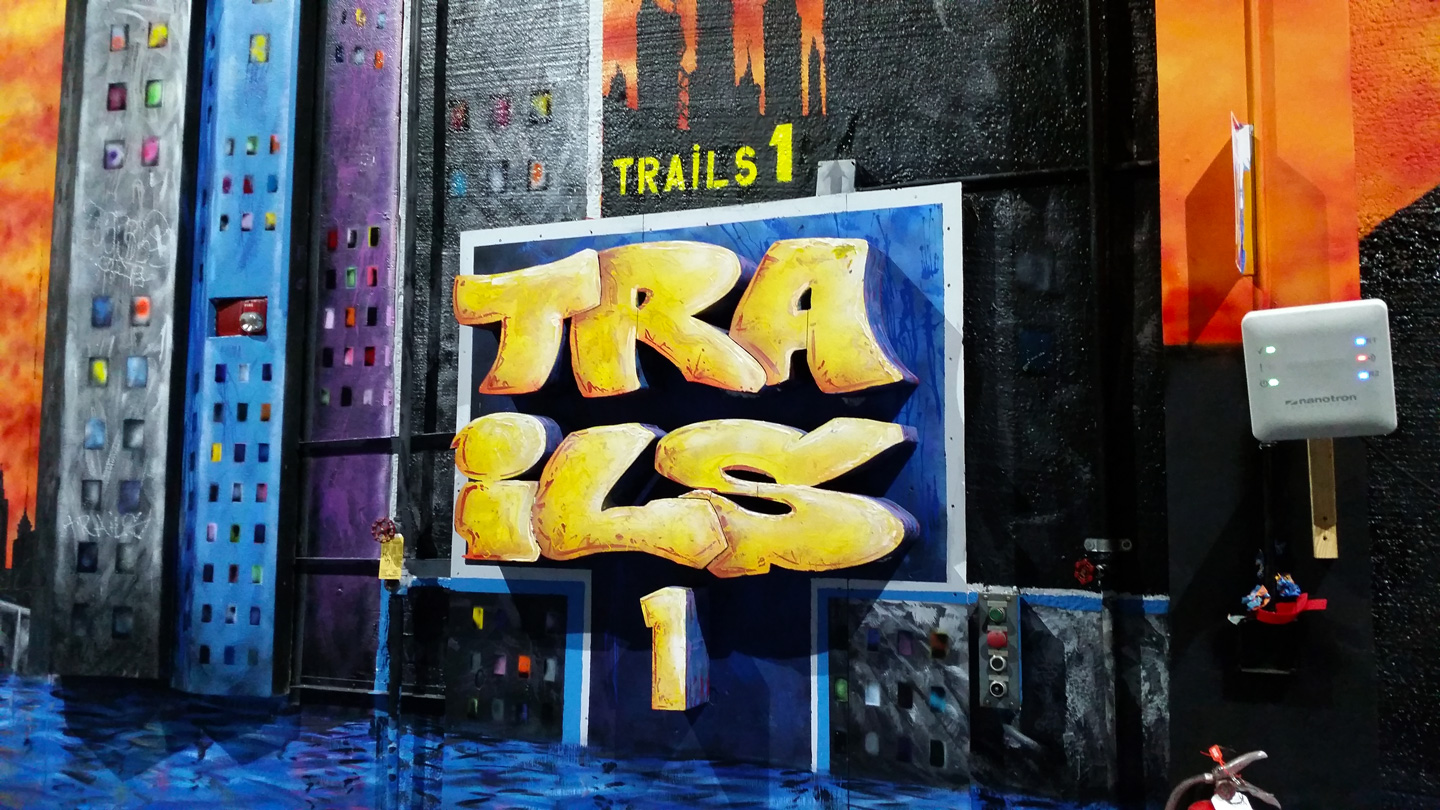 Trais1 Miami Grafffiti Mural Street Art