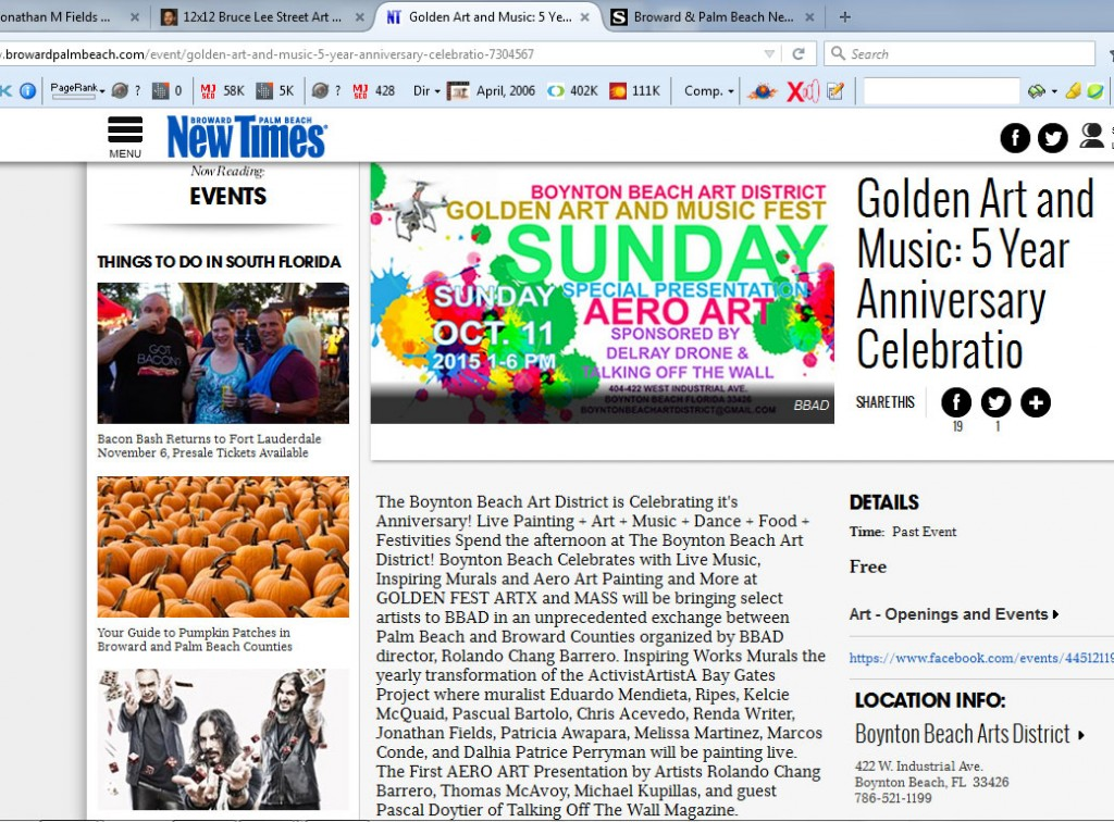 New Times Golden 2015 Miami Street Artist Trails1
