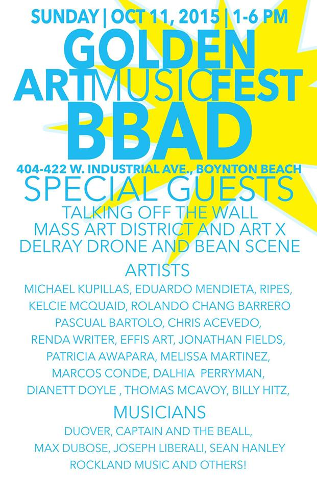 Boynton Beach Art District Mural 5 year Anniv