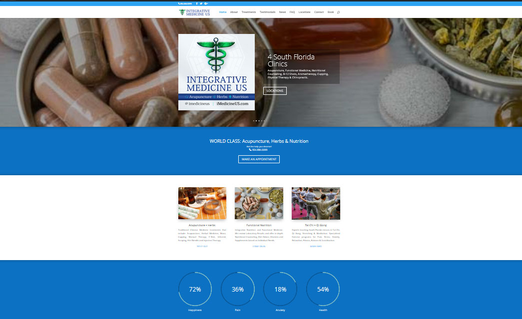 Coral Springs Acupuncturist Web Design and Branding